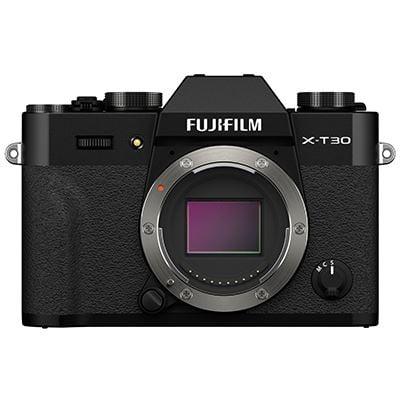 Fujifilm X-T30 II Mirrorless Camera Body (Black)