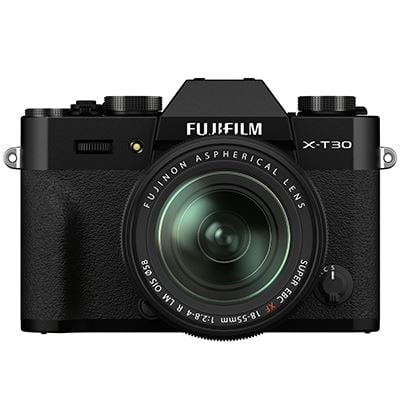 Fujifilm X-T30 II Mirrorless Camera & 18-55mm XF Lens (Black)