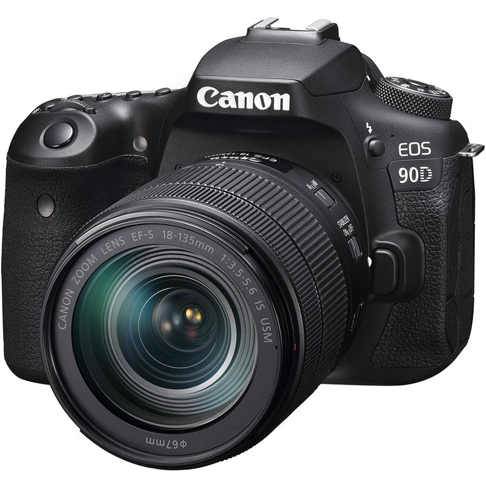 Canon EOS 90D DSLR Camera & 18-135mm IS USM Lens