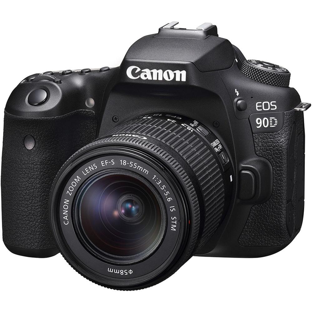 Canon EOS 90D DSLR Camera & 18-55mm IS STM Lens Kit