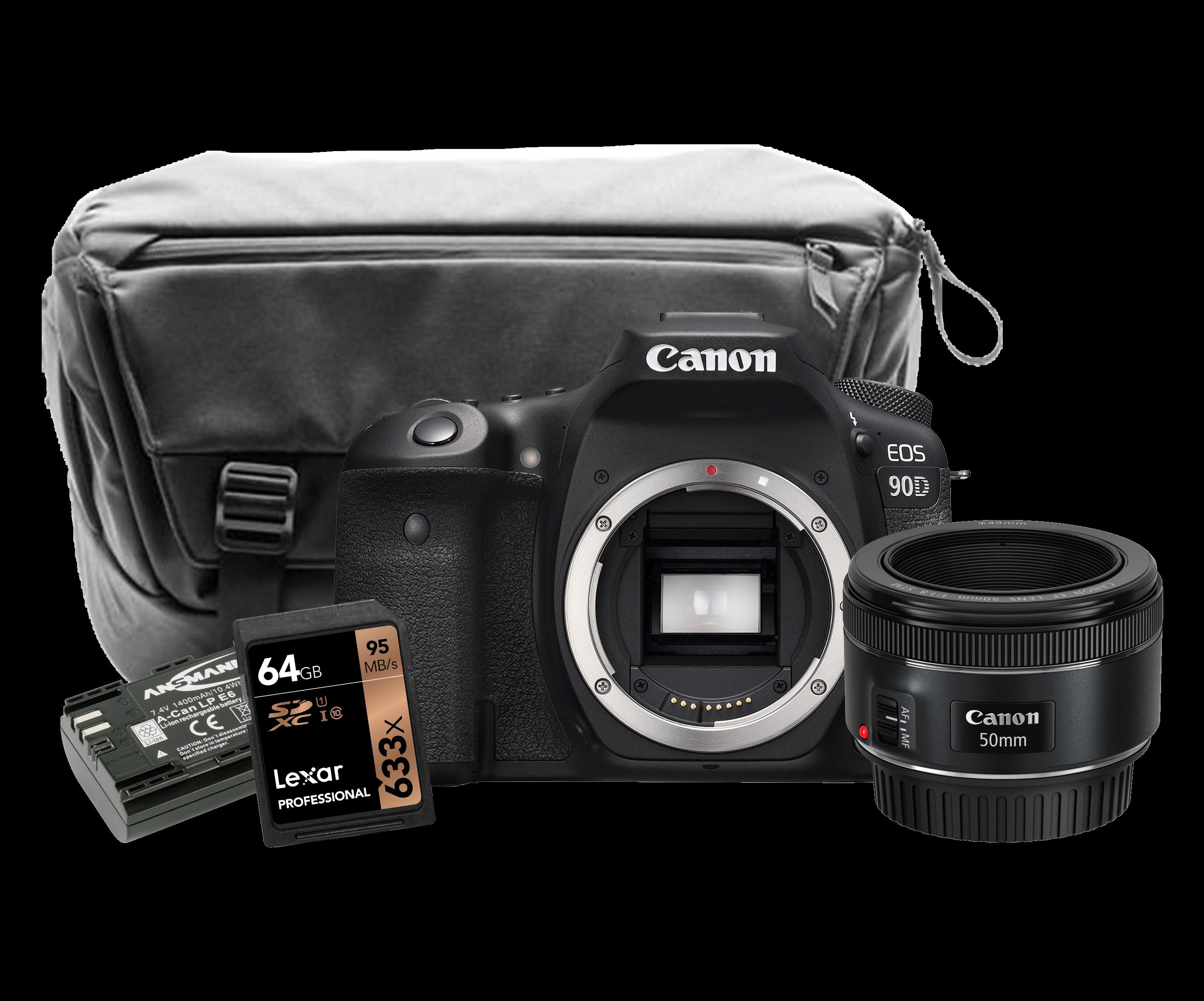 Canon EOS 90D DSLR Camera Exclusive Kit