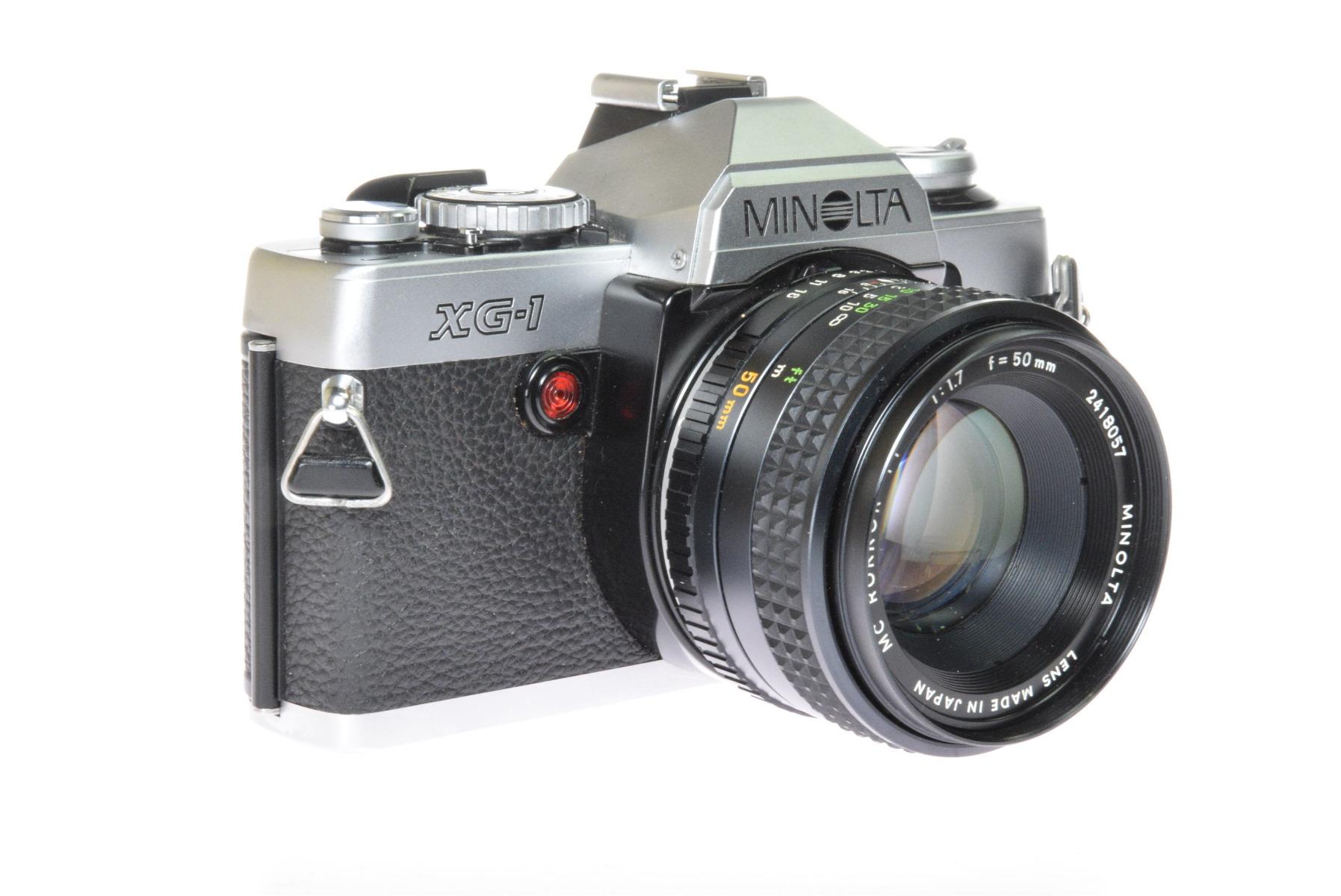 Used Minolta XG1 35mm SLR Camera & 50mm f1.7 Lens