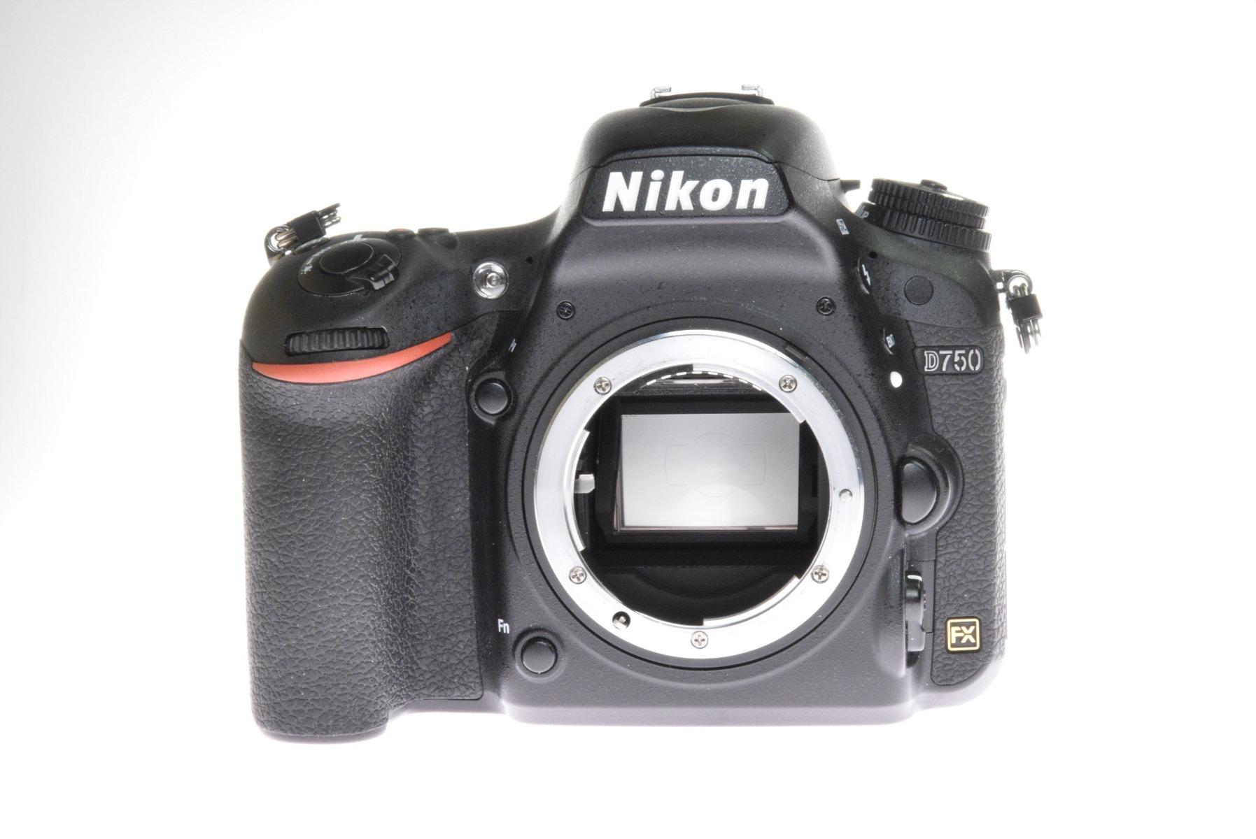 Used Nikon D750 DSLR Camera Body (64,000 shutter actuations)