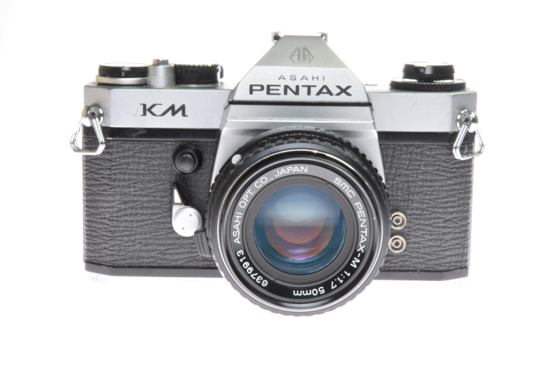 Used Pentax KM 35mm SLR Camera & 50mm f1.7 Lens