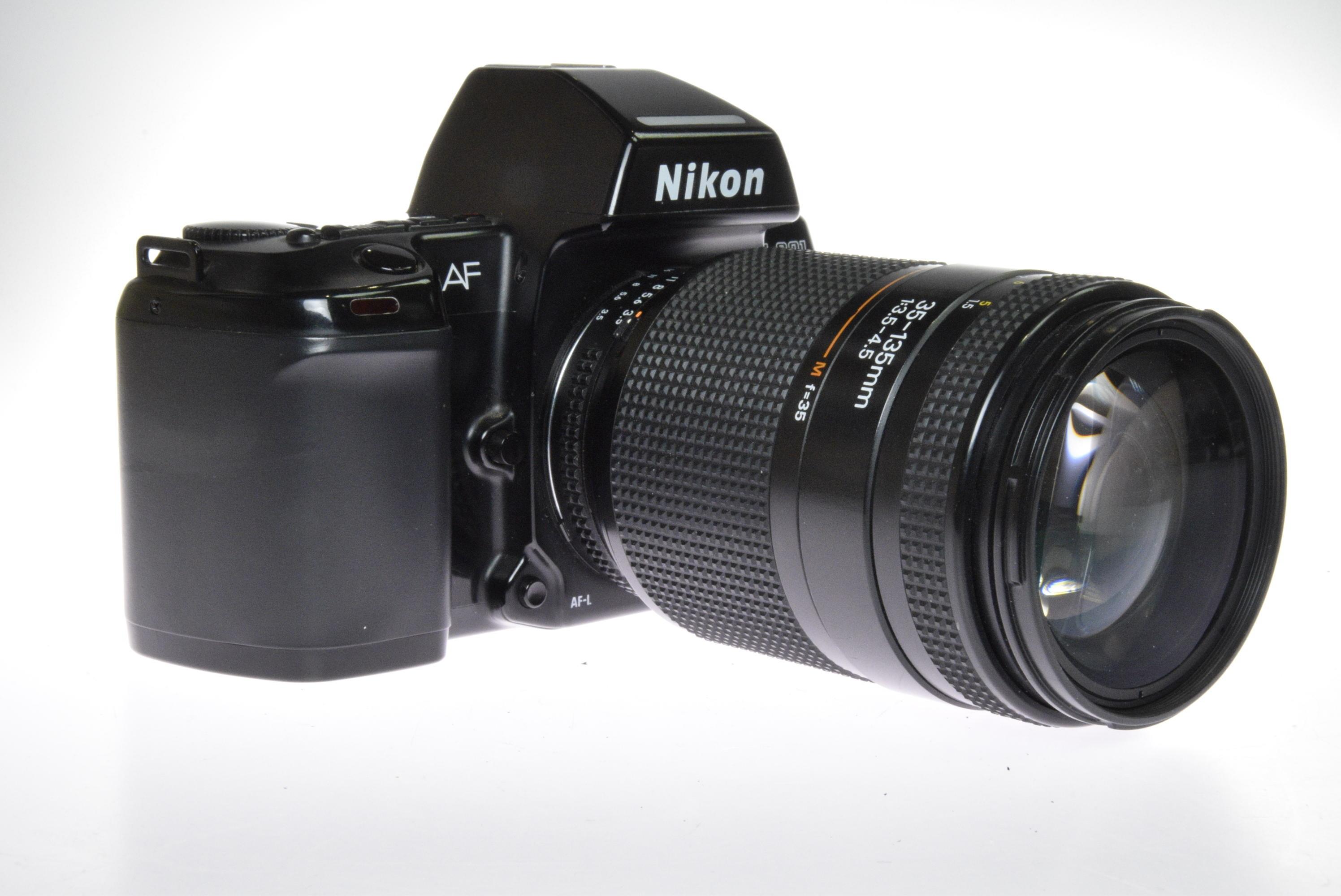 Used Nikon F801 35mm SLR Camera & 35-135mm Zoom Lens (Commission Sale)