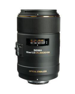 Sigma 105mm f2.8 EX DG MACRO OS HSM Lens (Nikon FX Fit)