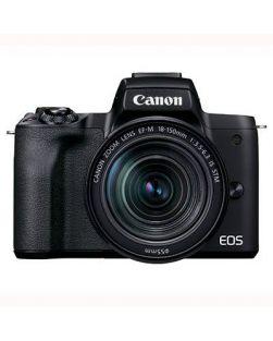 Canon EOS M50 Mark II Mirrorless Camera & 18-150mm EF-M Lens (Black)