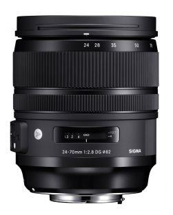Sigma 24-70mm f2.8 DG OS HSM ART Lens (Nikon FX Fit)