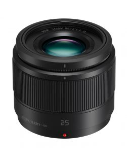 Panasonic 25mm f1.7 LUMIX G ASPH. Lens (Black)
