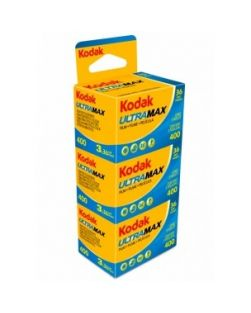 Kodak UltraMax 400 35mm Film Triple Pack  (36 Exposures x3)