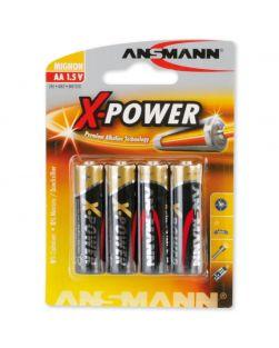 Ansmann X-Power Alkaline AA Battery (Pack Of Four)