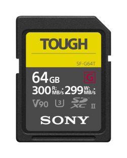 Sony 64GB SF-G TOUGH UHS-II SDXC Memory Card