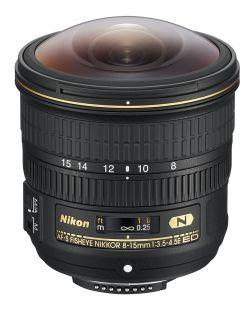 Nikon 8-15mm f3.5-4.5E ED AF-S FISHEYE NIKKOR Lens
