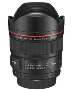 Canon 14mm f2.8L II USM EF Lens
