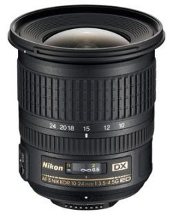 Nikon 10-24mm f3.5-4.5G ED AF-S DX