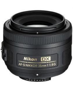 Nikon 35mm f1.8G AF-S DX NIKKOR Lens