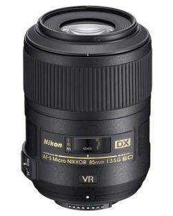 Nikon 85mm F3.5G ED VR Micro