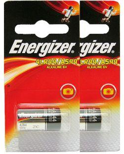 Energizer A544 / 4LR44 Minature Alkaline Battery Twin Pack