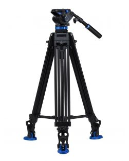 Benro A573TBS7 Tandem Video Tripod with S7 Video Head Kit