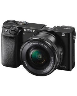 Sony A6000 Mirrorless Camera & 16-50mm Power Zoom Lens Kit (Black)