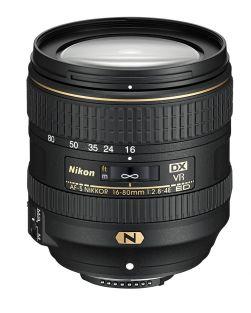 Nikon 16-80mm f2.8-4E AF-S DX ED VR Lens