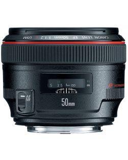 Canon 50mm f1.2L USM EF Lens