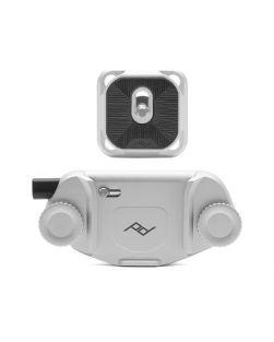 Peak Design CAPTURE Camera Clip V3 (Silver) with plate