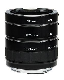 Kenko TELEPLUS DG TUBES 36+20+12mm for CANON EOS cameras