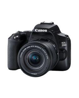 Canon EOS 250D DSLR Camera & 18-55mm IS STM Lens Kit (Black)