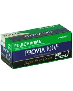 Fujifilm Fujichrome PROVIA 100F 120 Format Film