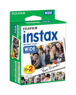 """Fujifilm INSTAX """"Wide"""" Instant Print Film Twin Pack (Colour)"""