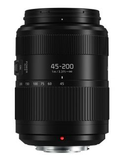 Panasonic 45-200mm f4-5.6 LUMIX G VARIO POWER OIS II Lens