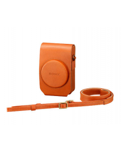 Sony LCS-RXG Leather Case for RX100 Series (Tan)