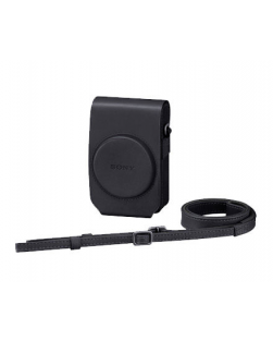 Sony LCS-RXG Leather Case for RX100 Series (Black)