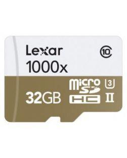 Lexar 32GB 1000x UHS-II Micro SDHC Memory Card