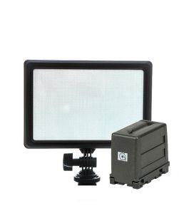 Nanlite Lumipad 11 LED Light Panel & NGBM1 AA Battery Pack