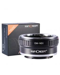 K&F Mount Adapter: Olympus OM Lens to Sony E-Series Body