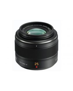 Panasonic 25mm f1.4 Leica Summilux DG ASPH. Lens