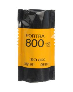 Kodak Professional PORTRA 800 120 Format Film