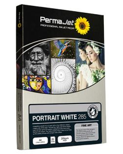 PermaJet A4 Portrait White Photo Paper (Pack of 25)