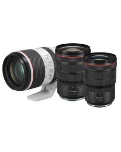 Canon RF f2.8L Trilogy Lens Kit : Canon 15-35mm f2.8 L IS USM RF, Canon 24-70mm f2.8 L IS USM RF and Canon 70-200mm f2.8 L IS USM RF Lenses