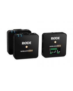 Rode WIRELESS GO II Compact Wireless Microphone System (Black)