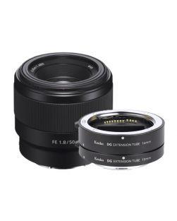Sony 50mm f1.8 FE Lens & Kenko Macro Extension Tube Set