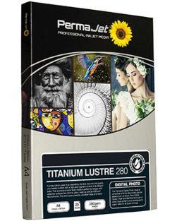 PermaJet A4 Titanium Lustre Photo Paper (Pack of 25)