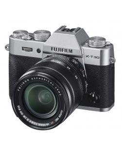 Fujifilm X-T30 Mirrorless Camera & 18-55mm OIS XF Lens Kit (Silver)