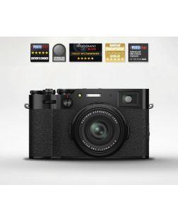 Fujifilm X100V Advanced Compact Digital Camera (Black)