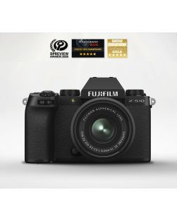 Fujifilm X-S10 Mirrorless Camera & 15-45mm XC Lens
