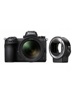 Nikon Z6 Mirrorless Camera, 24-70mm f4S Z & FTZ Adapter Kit