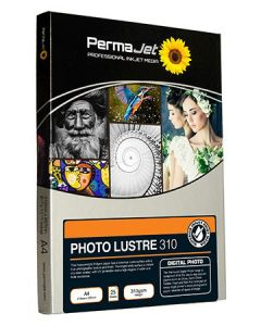 PermaJet A4 Photo Lustre 310 Photo Paper (Pack of 25)