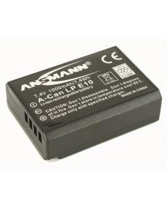 Ansmann Canon LP-E10 Digital Camera Battery for EOS 200D, 4000D, 1300D, 1200D, 1100D